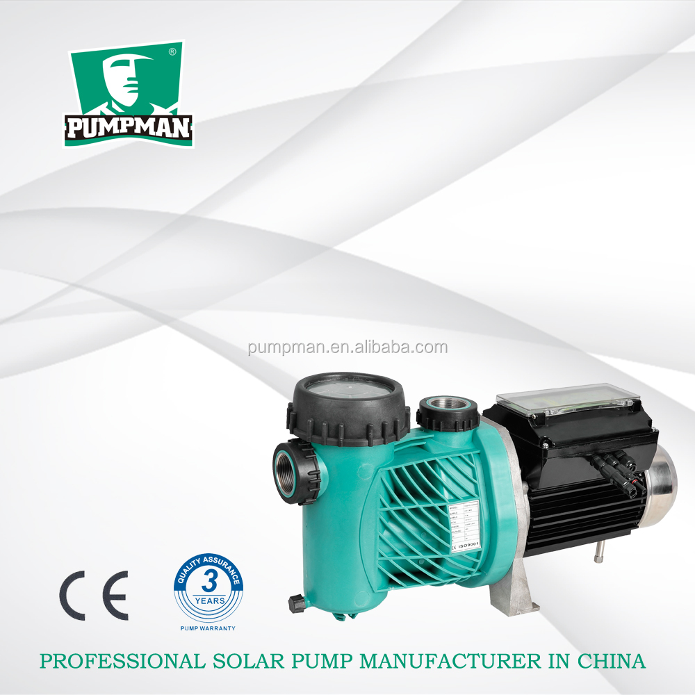 TSSP PUMPMAN solar power dc brushless surface swimming pool water pump