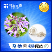 red sage root p.p / radix salvia miltiorrhiza extract powder 1% danshensu