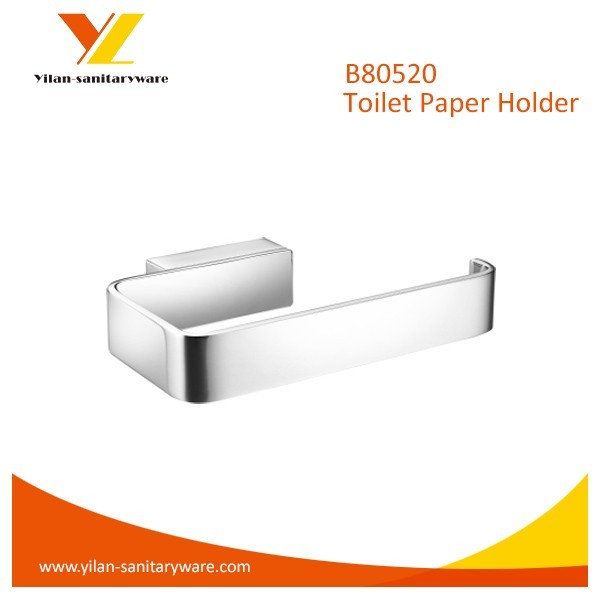 Bathroom Chrome Plated Finish Brass Made Toilet Tissue Paper Holder
