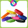 Colorful usb flash drive silicone wristband bracelet