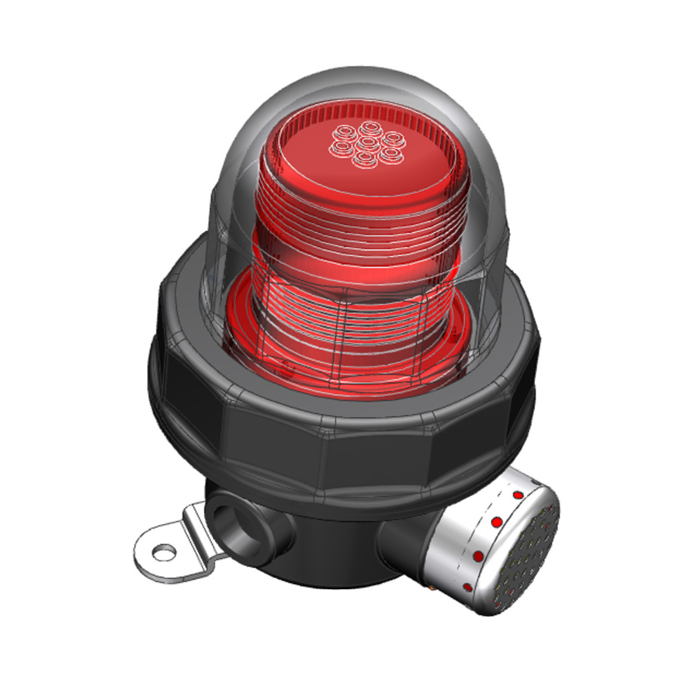 LED Explosion Proof Warning Light in hazardous area