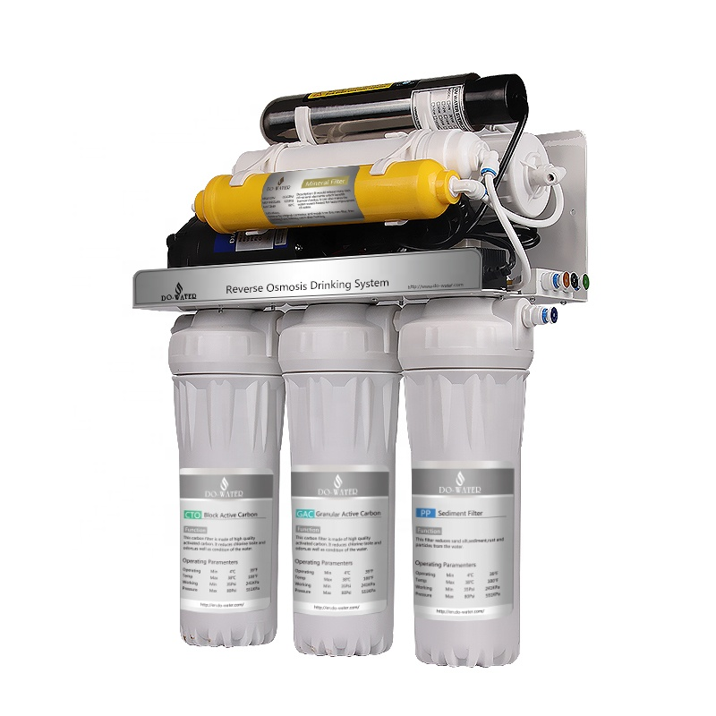 Hot Sale alkaline machine household purifier 7 stages ro water filter <strong>system</strong>