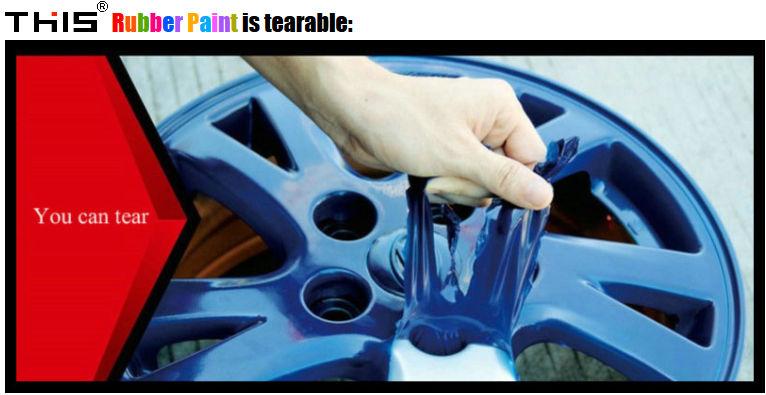 Hot Dip Plastique Liquide De Pulvérisation De Peinture De Voiture De  Revêtement