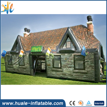 High Quality Funny House Inflatable Log Cabin Tent