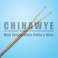 2 core Silicone rubber insulated Teflon cable wire
