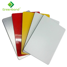 Facade interior/exterior colorful aluminum composite panel cladding