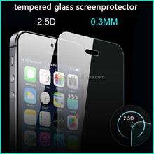 polyurethane tempered glass screen protector for iphone 5s
