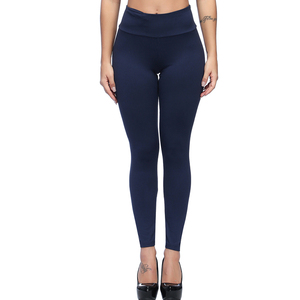 Womens Sports High Waist And Small Pockets At The Waist Leggings Jeans