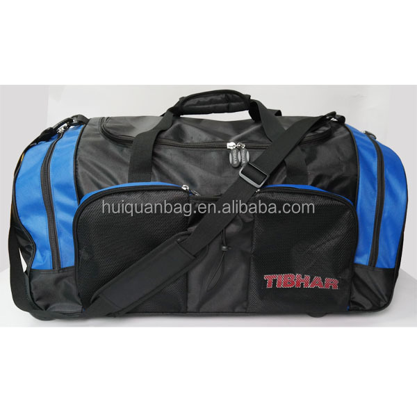 waterproof big classical travel bag with village manufactures