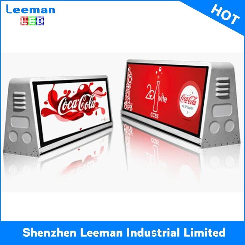 led taxi top/roof advertising led display sign/module/screen/panel p16 outdoor led module
