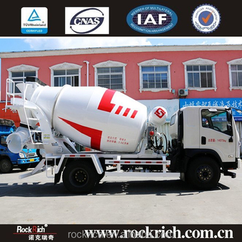 Volumetric 6 Cbm self mini ready new 3 cubic meters concrete mixer truck