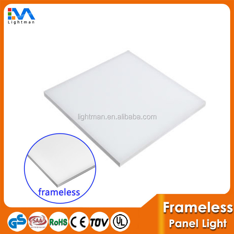 Frameless Patent Product Surface Mount 45W Dimming 595X595MM LED Ceiling Sky Panel with 2835SMD LED