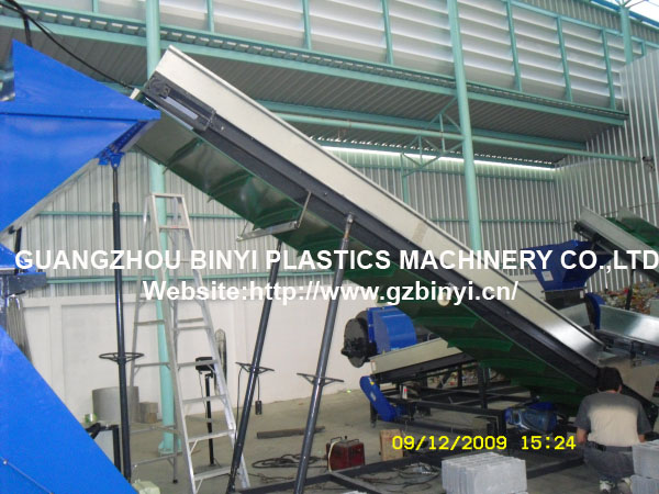 Industrial Waste Plastic Car Parts Crushing and Washing Recycling Machines Line Factory