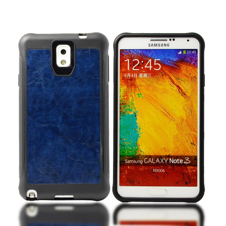hot selling skin hybrid mobile phone case for Samsung Galaxy Note3,leather pu back cover for Samsung Galaxy Note 3 N9006