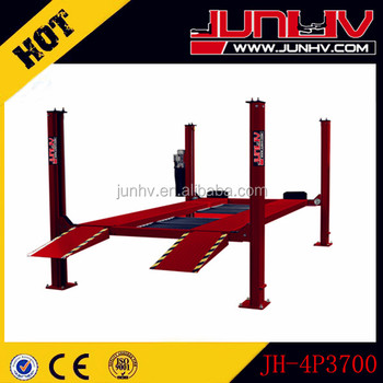 4 post hydraulic parking car lift for sale JH-4P3700