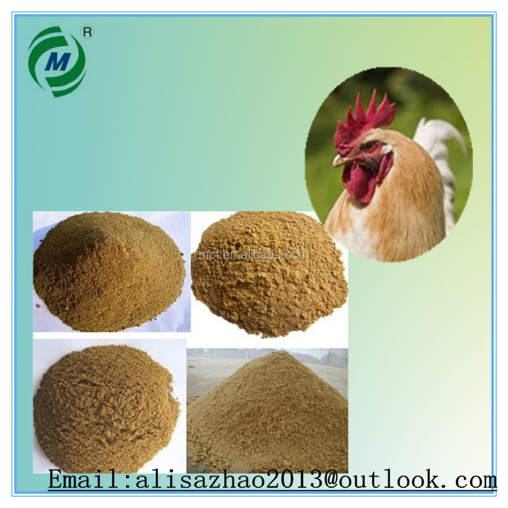 Hot sale chicken feed lowest price Meat Bone Meal 50% powder