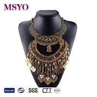 genuine diamond jewelry wholesale boho pendant necklace stone fashionable jewelry