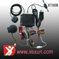 XT008 gps tracker with engine shut off gps tracker car anti theft gps/gsm tracker with microphone