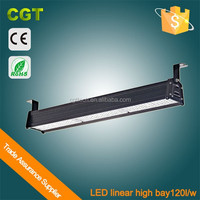 CE Rohs 5years warranty high lumens Led linear high bay 150w