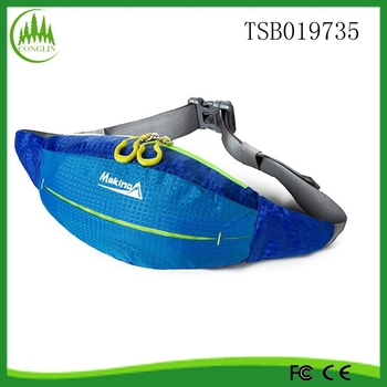 alibaba China New Products 2015 Wholesale Sport Blue Nice Design Waist Bag
