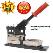 Promotional gifts rectangle button making machine