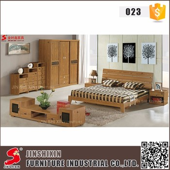 Customized modern bedroom furniture set high quality mdf wood home furniture