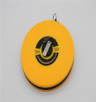 Printable retractable water proof 50m measuring tape