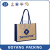fashion and durable tote bag cotton linen shopping bag