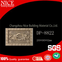 Eco-friendly decorative material 3d texture wall panel