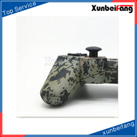 Paint & gold button&Camouflage pattern Replacement Shell for Controller PS3 Shell/Video Game Controller Shell /housing