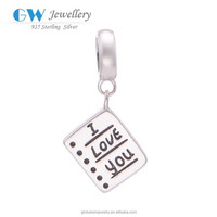 S157 Globalwin 925 Silver Wholesale Pendants Jewelry