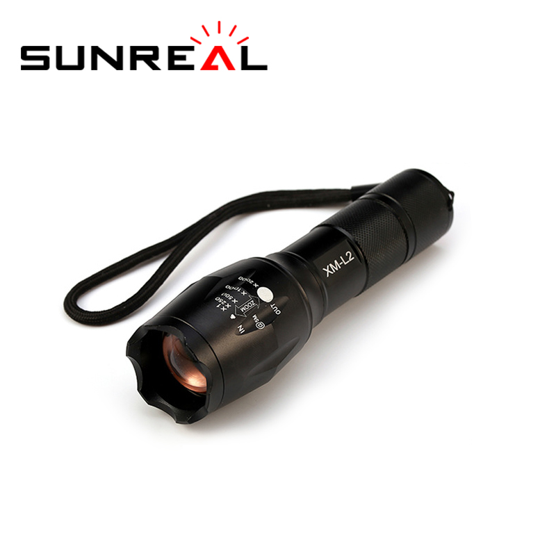 CE ROHS mini high lumens flashlight powerful aluminium led rechargeable torch light