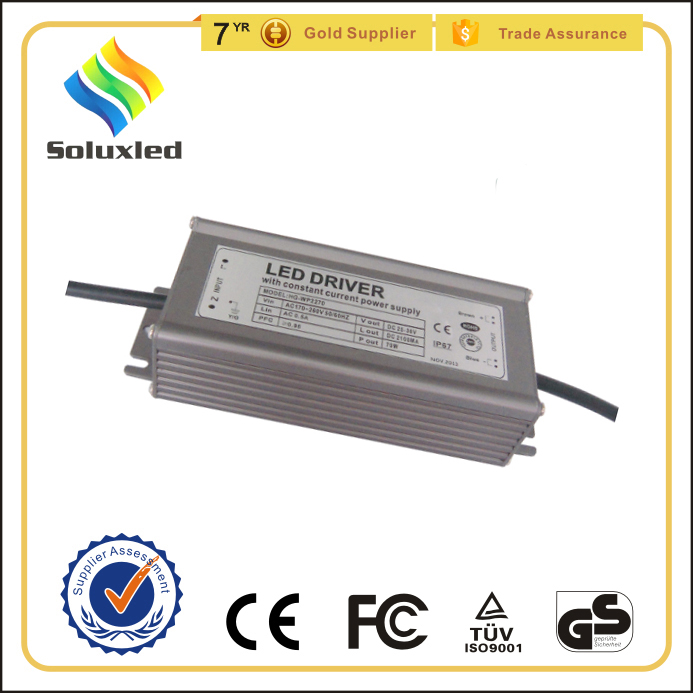 ip67 waterproof led driver 70w cob