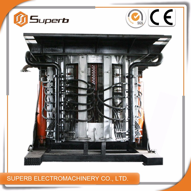 High Melting Efficiency Steel And Iron Scrap Metal Melting Furnace