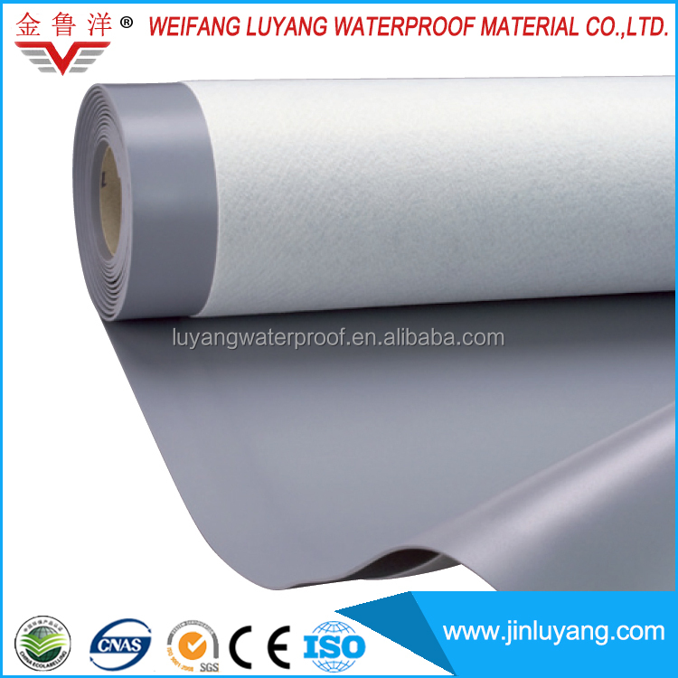 flexible PVC waterproofing membrane for flat roof