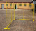 removal mobile fence/ welded mesh fence for construction, Mobile Temporary fence