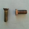 China Superior quality ZINC Galvanized CSK Cross head screw bolt