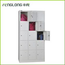 multi-door metal bedroom wardrobe design staff cloth storage locker cabinet for wholesale