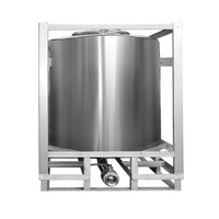 Good quality 1000L stainless steel shower gel storage tank