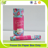 Handmade Printing Paper Tube Box Packaging