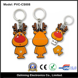 cartoon rubber bulk cheap mini 2gb usb pendrive 2.0/USB 2.0/3.0 PVC Customized cartoon usb flash drive