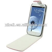 Vertical Flip Leather Case for Samsung Galaxy SIII / i9300