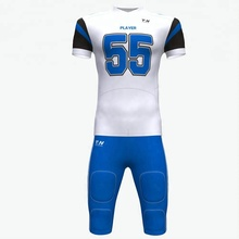 Custom practice jerseys Sublimation youth american football jersey