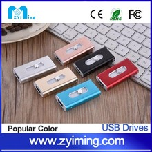 Zyiming 3 in 1 OTG Usb flash drive for Android Phone/Computer/Iphone with Custom Logo
