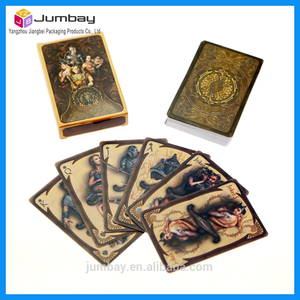 flip flop 3d effect lenticular playing card