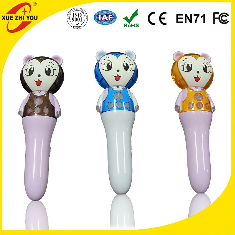 Children smart cute pen and touch book Novelty Voice Toy