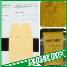Asphalt Bitumen Iron Oxide Yellow 313 Synthetic Pigment Free Sample