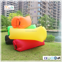 good quality Nylon polyester cheap air filling new inflatable sofa pink