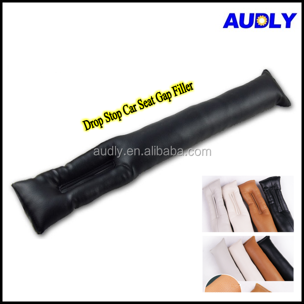 PU Leather Car Seat Leak Proof Protective Stop Gap Filler Spacer for All Car