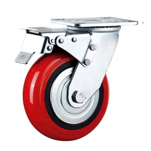 High Performance smooth moving load heavy duty dolly casters